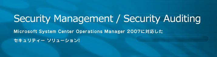 Security Management / Security Auditing